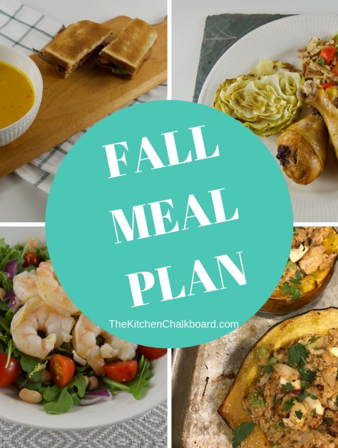 Fall Meal Plan Images