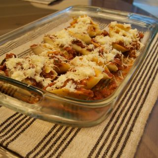 Bolognese Stuffed Shells