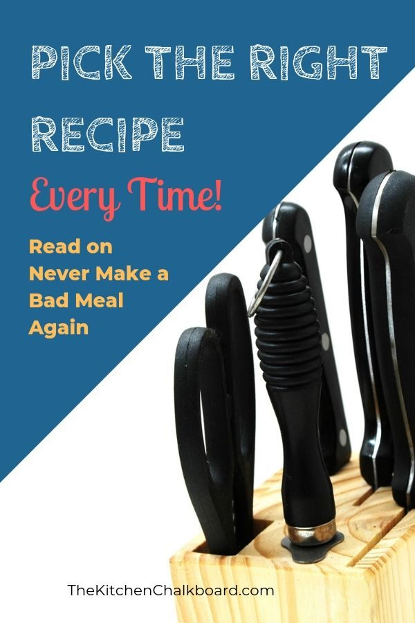 How to tell if a recipe is good