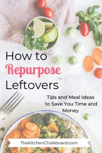 How to Repurpose Leftovers