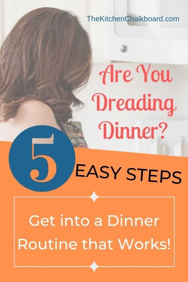 How to Create a Dinner Routine