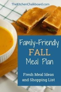 Fall Meal Ideas