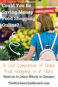 Cheaper to Buy Groceries Online