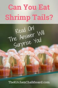 Can You Eat Shrimp Tails