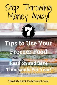 Use Up Freezer Food