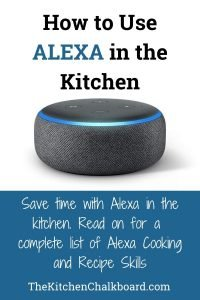 Alexa Cooking Skills