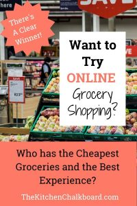 Online Grocery Comparison