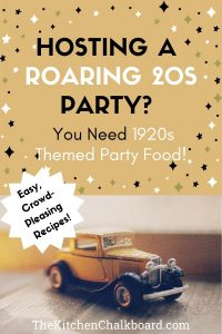 Roaring 20s Party Food