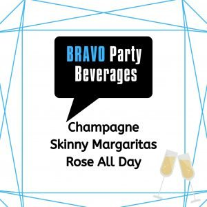 Bravo Themed Party Drinks