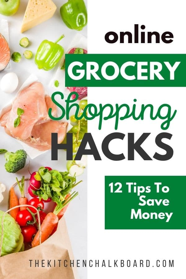 Online Grocery Shopping Hacks