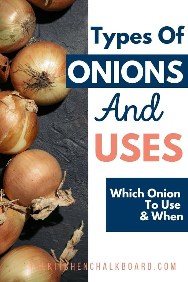 Types of onions pin