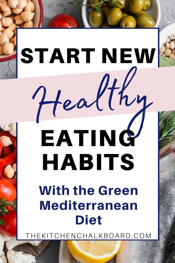 Green Mediterranean Diet Pin