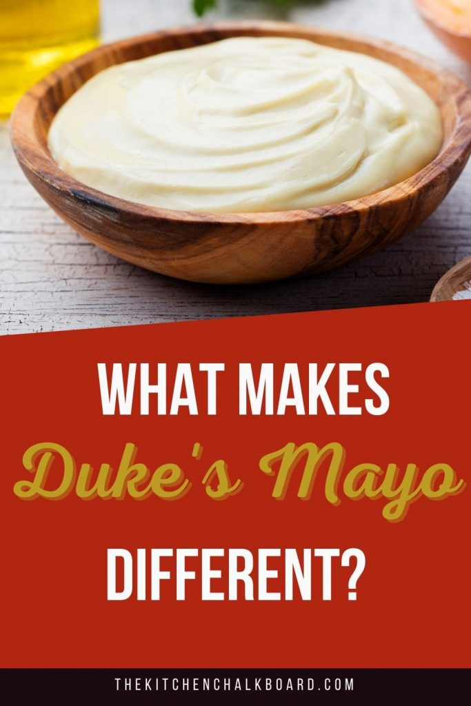 Duke's Mayonnaise Pin