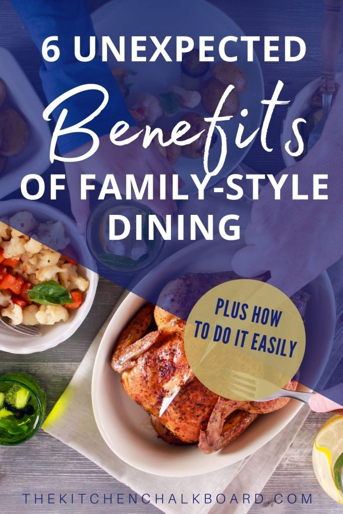 Benefits of family-style meals