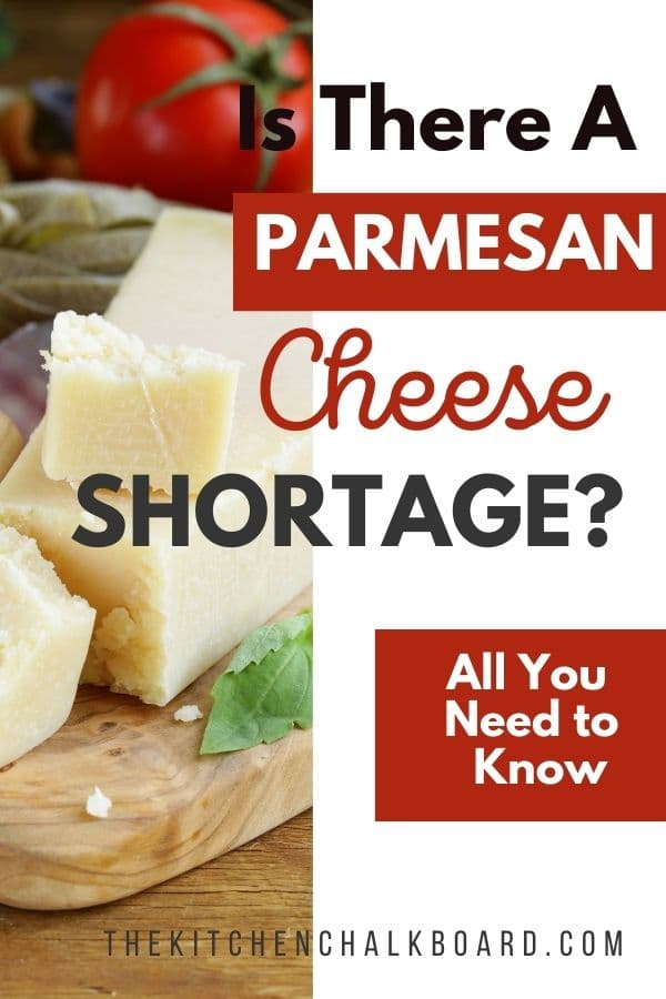 Is there a parmesan cheese shortage in 2021?