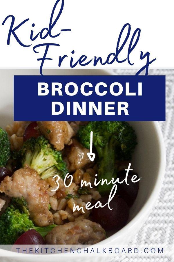 Kid-Friendly Broccoli Dinner Image