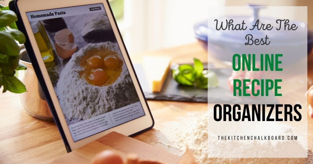 The Best Online Recipe Organizers Snippet
