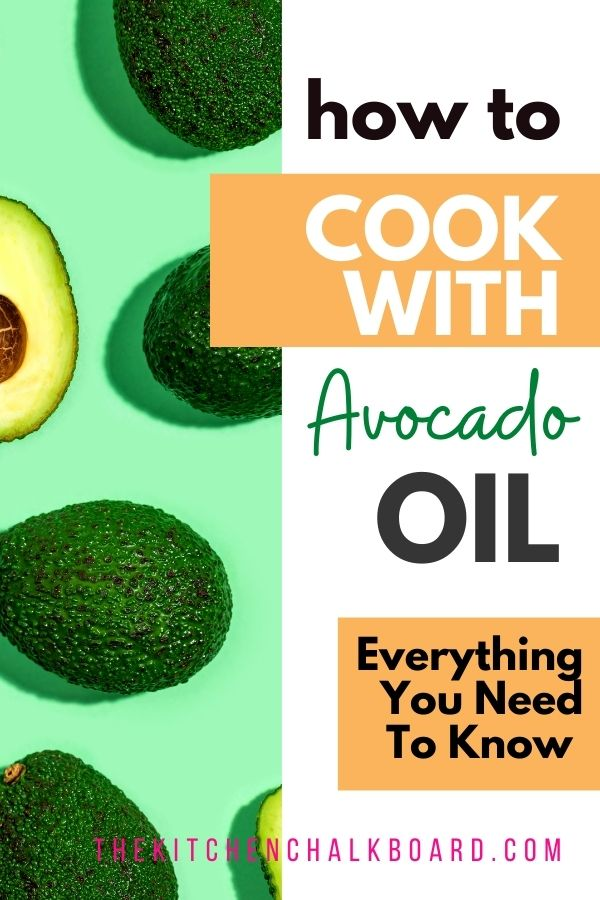 Benefits of avocado oil for cooking