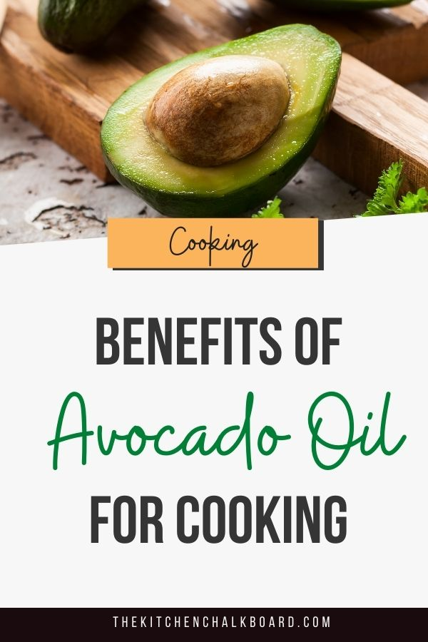 Avocado Oil For Cooking Pin