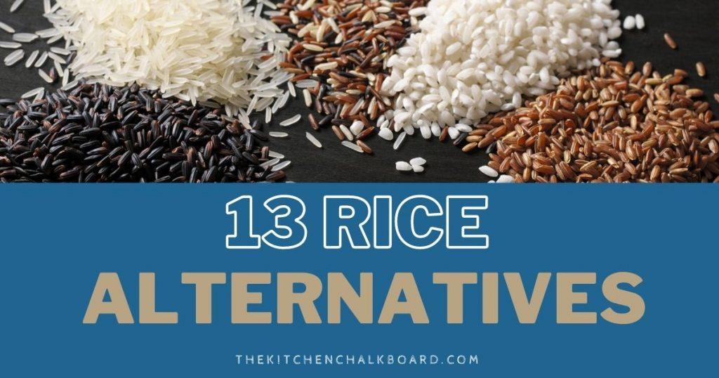 Rice Alternatives Snippet
