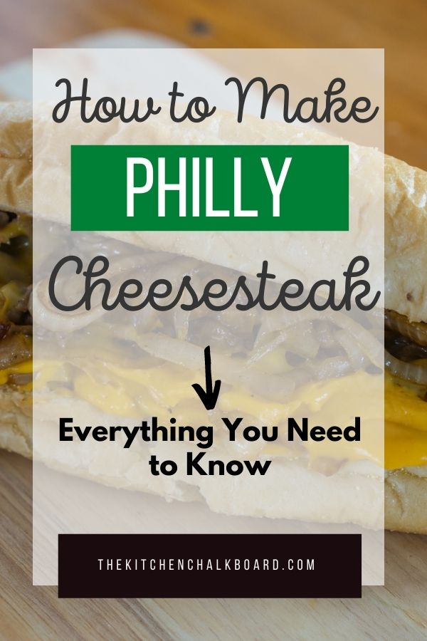 How to make a Philly Cheesesteak