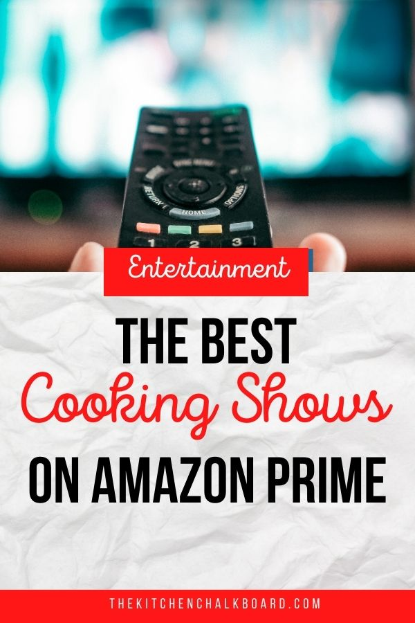 Food Shows on Amazon Prime Pin